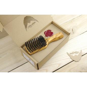 perie barba lemn maslin