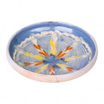 sapuniera ceramica horezu albastra