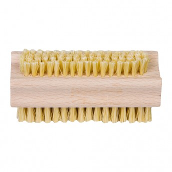 perie pentru unghii din lemn de fag si par vegetal