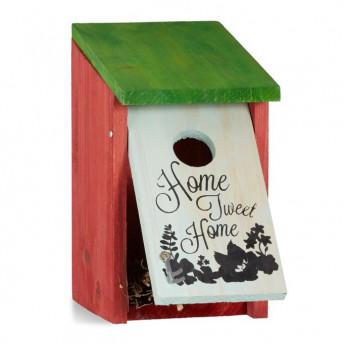 "Casuta de Pasari, ""Home Sweet Home"", 21 x 12 x 15 cm"