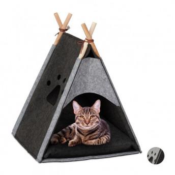 Mini Cort pentru Pisica, 57 x 46 x 45 cm