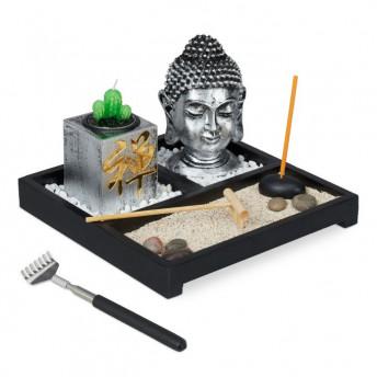 Gradina mare Zen cu Buddha, 20 cm