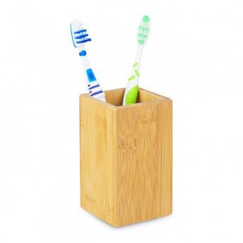 Suport Periute si Pasta de dinti, din Bambus