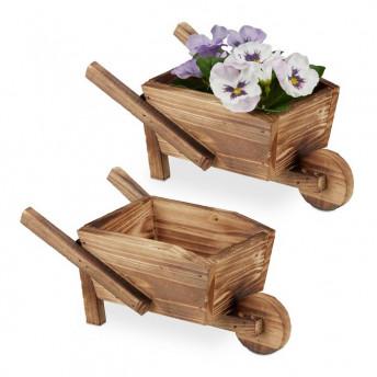 Set mini Roaba pentru flori, 2 bucati, 22 x 12 cm