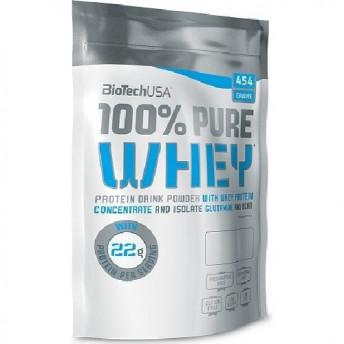 Proteina pudra 100% Pure Whey 454gr Banane BiotechUSA