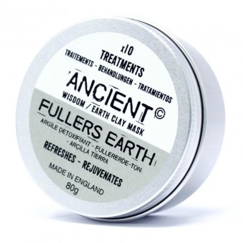 Masca tratament Fuller Earth, din argila, 80g, Ancient Wisdom