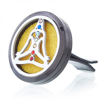 Difuzor Aromaterapie Auto, Yoga, 30 mm, Ancient Wisdom
