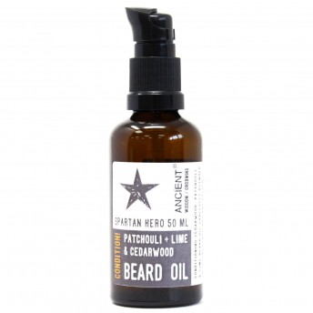 Ulei de Barba Conditionator - Spartan Hero - Anceint Wisdom 50 ml