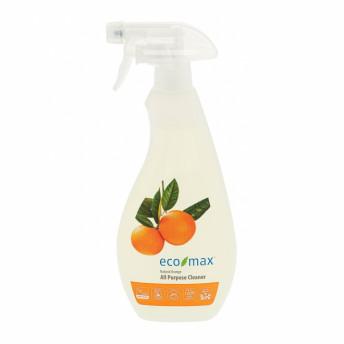 Solutie universala pt curatare multisuprafete, cu portocala, Ecomax, 710 ml