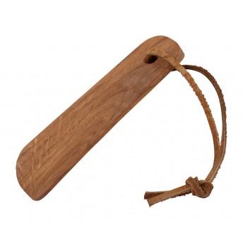 Incaltator din Lemn de Stejar si curea din piele