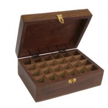 Cutie din lemn pentru 24 de uleiuri esentiale