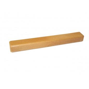 Suport periuta dinti pentru voiaj, lemn lichid, maro deschis
