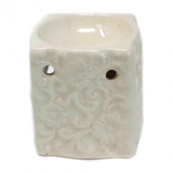 Vas Aromaterapie, Floral, alb