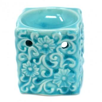 Vas Aromaterapie, Floral, albastru