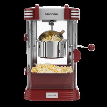 Aparat pentru popcorn, Cecotec Fun&Taste P´Corn Classic, 300W, inox, lumina interna