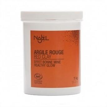 Argila rosie fina, 1 kg - NAJEL