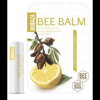 Balsam de buze nutritiv Lemon & Buttermilk - BIOBAZA