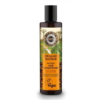 Balsam de par pentru volum cu ulei de baobab, 280ml - Planeta Organica