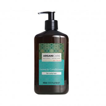 Balsam hidratant fara clatire cu ulei de argan pentru par cret, Arganicare, 400 ml