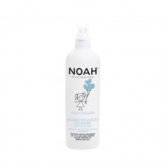 Balsam spray pentru descurcarea parului cu lapte & zahar pentru copii, Noah, 250 ml
