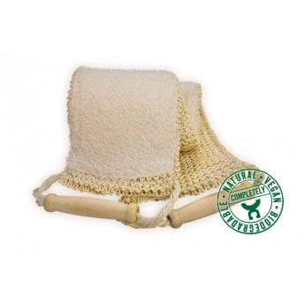 Banda pentru masarea si spalarea spatelui din sisal