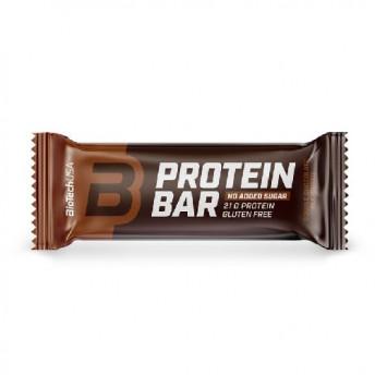 Baton Energizant - Protein Bar 70gr double Chocolate Biotech USA