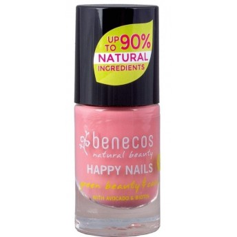 Lac de unghii Bubble Gum, 5 ml - Benecos