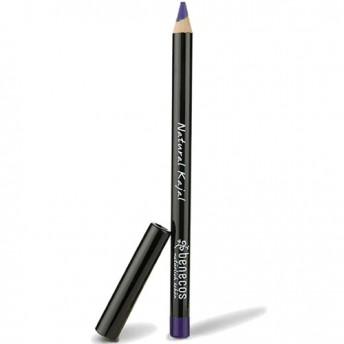 Creion Kajal bio pentru ochi, Night Blue (bleu-marin) - Benecos