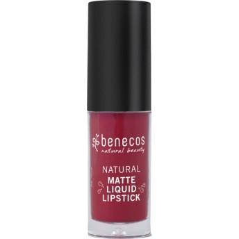 Ruj lichid mat bio, Bloody Berry - Benecos