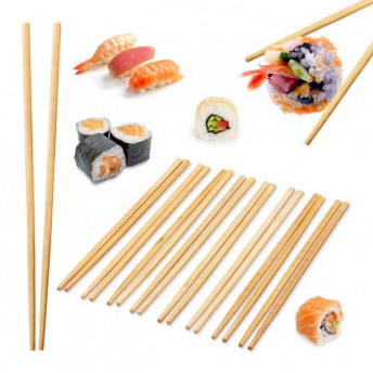 Bete Sushi Chinezesti, 10 Perechi, Bambus
