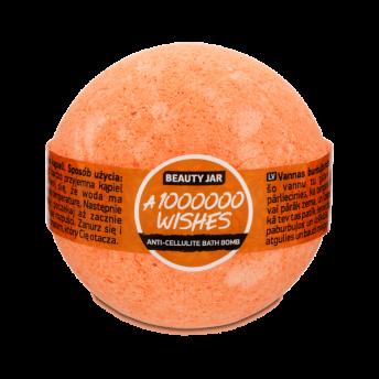 Bila de baie cu parfum de portocale siciliene, ulei de migdale si vitamina E, Beauty Jar, 150 g