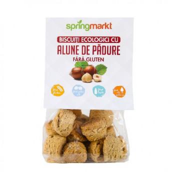 Biscuiti cu Alune de padure fara gluten 100gr BIO