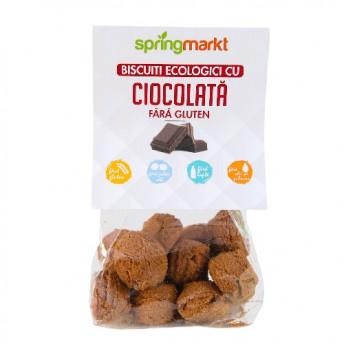Biscuiti cu Ciocolata fara gluten 100gr BIO