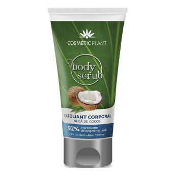 Exfoliant corporal cu Nuca de Cocos,150 ml, Cosmetic Plant