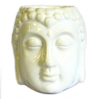 Vas Aromaterapie Buddha, alb