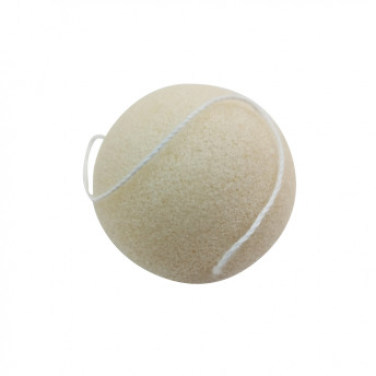 Burete natural Konjac, model Clasic 7.5 cm, Rotund