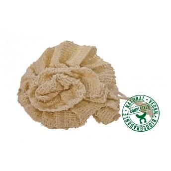 Burete Natural din Sisal, floare