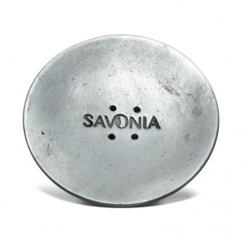 Sapuniera Ceramica Rotunda Neagra