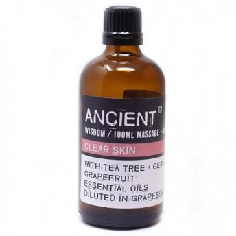 Ulei pentru masaj Clear Skin, 100 ml, Ancient Wisdom