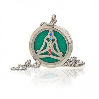 Colier aromaterapie Yoga Chakra, 30mm - Ancient Wisdom