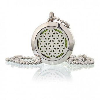 Colier aromaterapie Flower of Life, 25mm - Ancient Wisdom