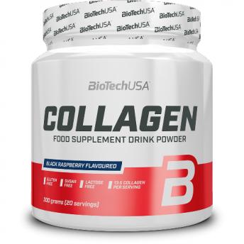 Supliment - Collagen 300gr Black Raspberry Biotech USA