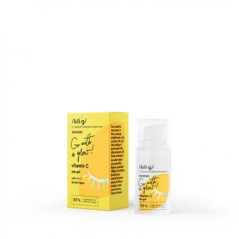 Contur de ochi, gel, cu Vitamina C, KILIG WOMAN, 15 ml