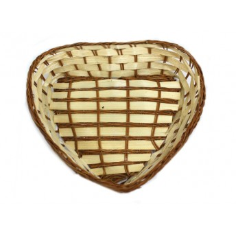 Cos inima din Bambus, 23 cm x 21 cm