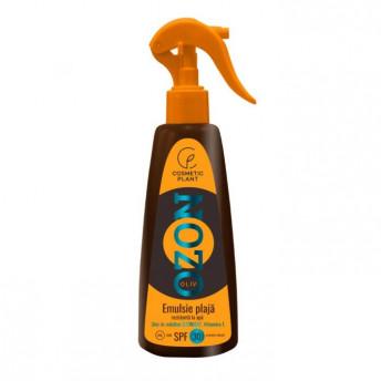 Emulsie plaja OZON SPF30 rezistenta la apa cu ulei de masline ozonizat, 200 ml