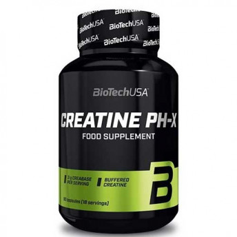 Supliment - Creatine PH-X 90 cps Biotech USA