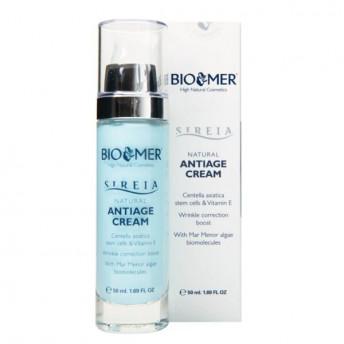 Crema anti-aging cu celule stem din Centella Asiatica si Vitamina E, Sireia Bio Mer, 50 ml