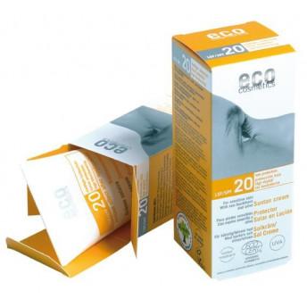 Crema bio protectie solara FPS 20, 75 ml - Eco Cosmetics