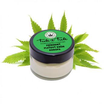 Crema 100% Naturala pentru fata, cu Canepa CBD, 50 ml, Tuli a Tuli