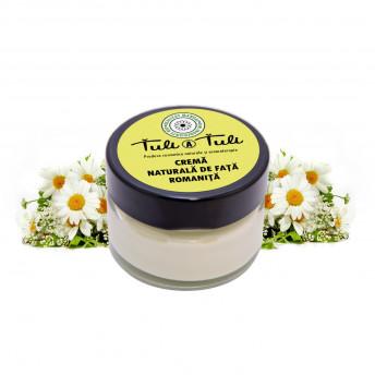 Crema 100% Naturala pentru fata, cu Musetel (Romanita), 50 ml, Tuli a Tuli